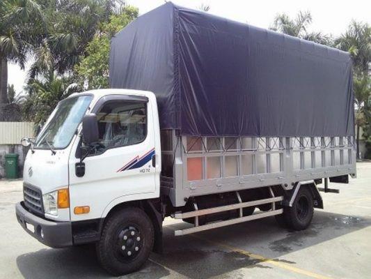 Xe tải 5T- Loại thùng: bạt