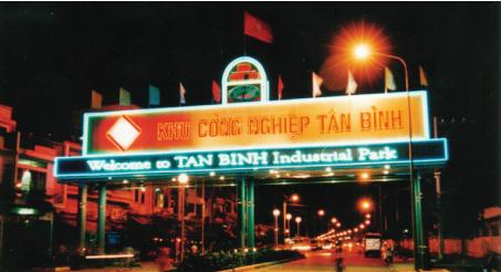 Xe Tải Chở Hàng KCN Tân Bình - TPHCM