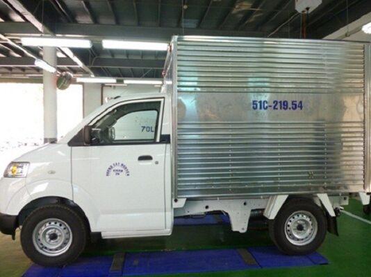 Xe tải 0,5 Tấn - Loại thùng: kín