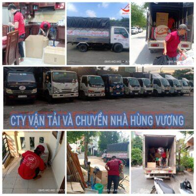 Dịch vụ xe tải chuyển nhà trọn gói uy tín chất lượng